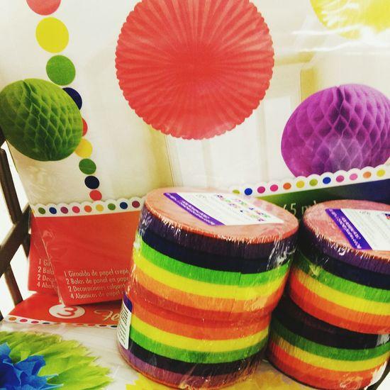 It's that time! Rainbow Prideparade RainbowDecor