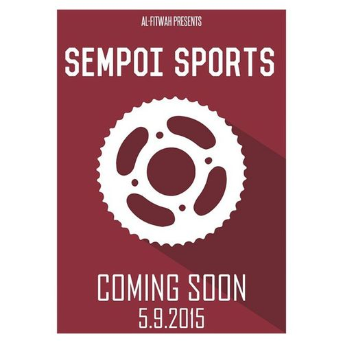 Standby people... @alfitwah sempoi sports is coming soon.. Insha'Allah.. AFsempoisports