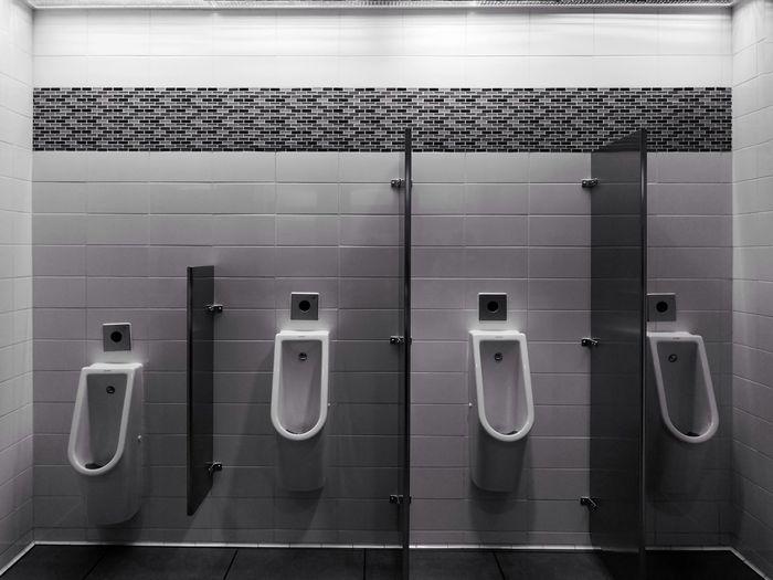 Blackandwhiteonly Blackandwhite Black_white Bnwphotography Bnw_captures Public Restroom Toilet Men Toilet Men Restroom Communication Convenience No People Urinal