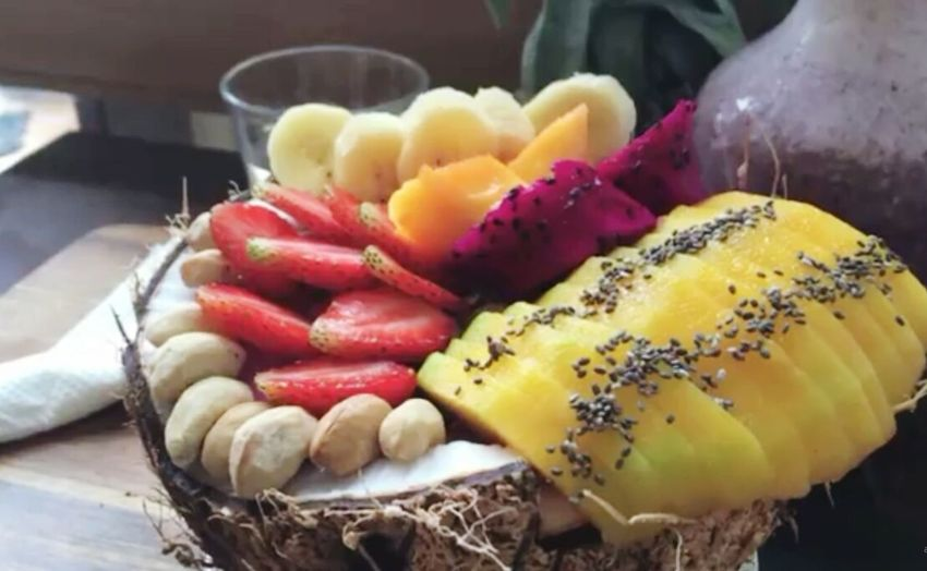 Ready-to-eat Freshness Thursday Sharelifeforhappiness Colours Of Nature Fruit Bowl