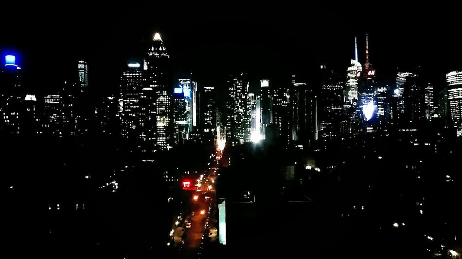 There was a time when I was one of those lights . . . and I will be again. NYC = Home. J'adore. From My Point Of View New York City Look Closer Future Cityscapes Home What Do You Want? Hello World Life Happiness