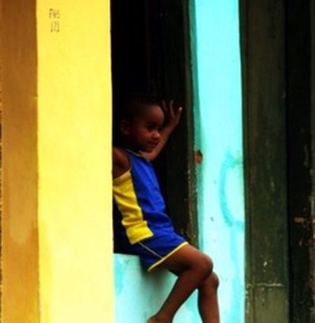 Brazilian Gallery One Person Childhood Indoors  Real People Full Length Day People