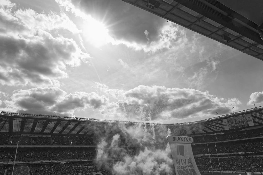 Bath v Saracens. Rugby final 2015 Streetphotography Street Photography Streetphotography_bw Streetphoto_bw Rugby Stadium Streetphoto Monochrome Blackandwhite Black & White Black&white