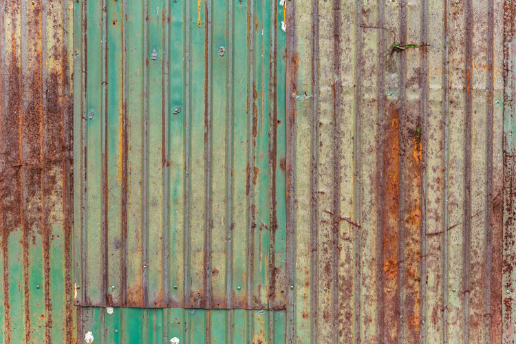 Architecture Backgrounds Corrugated Corrugated Iron Damaged Day Decline Deterioration Full Frame Iron Iron - Metal Metal No People Old Outdoors Pattern Run-down Rusty Sheet Metal Textured  Wall - Building Feature Weathered Wood - Material