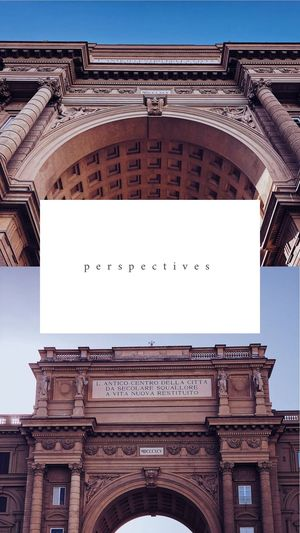 perspectives Italia Firenze Italy Florence EyeEm Selects Architecture Built Structure Building Exterior Travel Destinations Clear Sky Low Angle View No People Sky History Day City The Past Nature Text Arch Tourism Travel Outdoors Communication