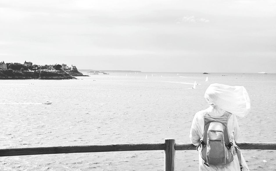 Archive 📌 One Person Sea Sky People One Woman Only Adult Nature Water Outdoors Day Beach Picoftheday Bestoftheday Photoftheday Photofy Photography Blackandwhite Black And White Photography Igersfrance Outdoor Photography Outfitter