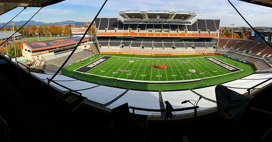 Sleepinggiant the Calmbeforethestorm Collegefootball at ReserStadium Colorado at OregonState Bevernation on Pac12Networks at 730pm PST