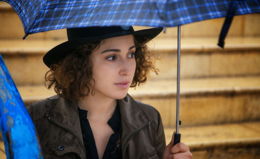 Autumn Portrait Of A Woman Rain Rainy Days Close-up Day Fall Fall Photography Focus On Foreground Holding Leisure Activity Lifestyles One Person Outdoors Portrait Protection Real People Umbrella Young Adult Young Women