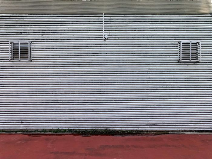 Pattern Metal No People Day Shutter Architecture Building Exterior Wall - Building Feature