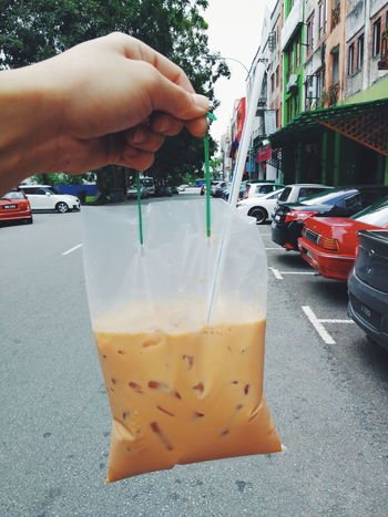 Milk tea Refreshment Food And Drink Liquid EyeEmNewHere Malaysia Drink Smartphonephotography Milktea Milk Tea Drink