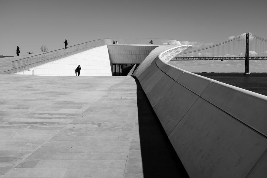 Architecture Streetphotography Street Photography Streetphoto_bw Bridge - Man Made Structure Belém Maat, Portugal, Belem Full Length Clear Sky Shadow City The Architect - 2018 EyeEm Awards