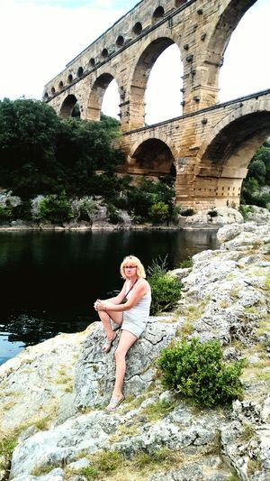 Le pont du gard en amoureux First Eyeem Photo