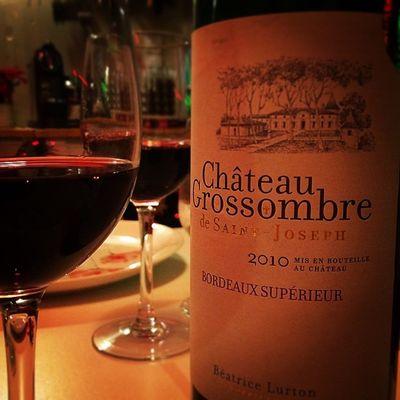Tonight Poulet Roti. Coleslaw maison. Bordeaux Sup. Because I got a Winolife ... 😁❤️🍷Redwine Instawine