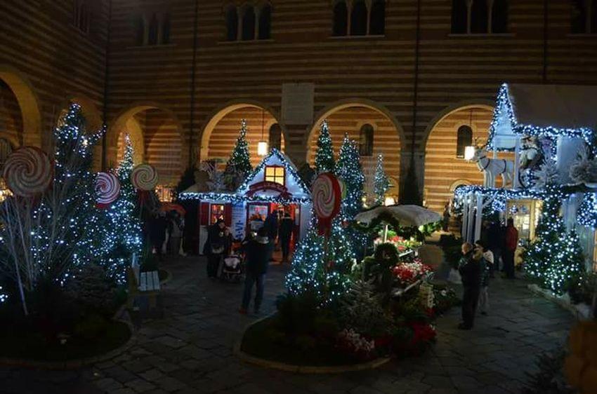 Verona Italy Christmas Markets Night House Of Santa Claus Christmas Spirit Christmas Tree Lights Christmas 2013