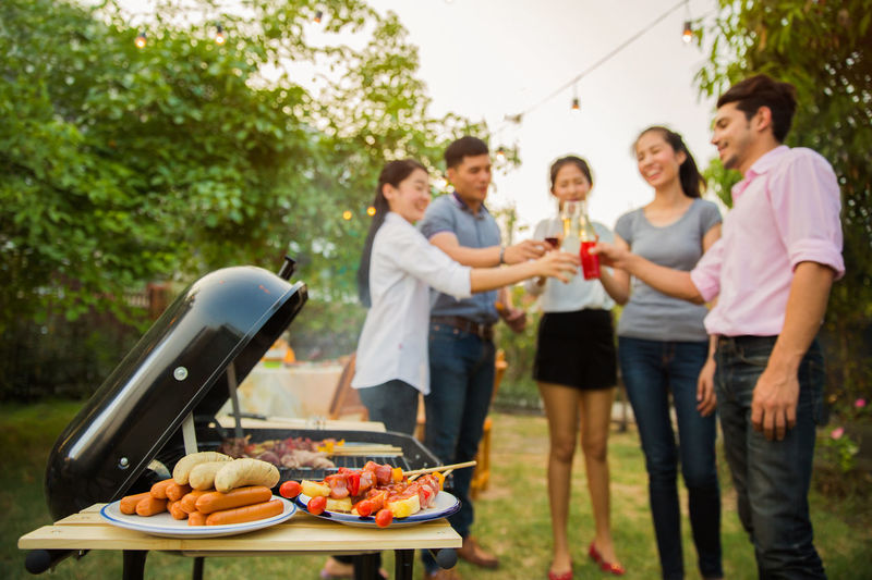Alcohol Barbecue Barbecue Grill Drink Drinking Food Food And Drink Friendship Glass Grilled Group Of People Happiness Leisure Activity Lifestyles Party - Social Event Refreshment Smiling Social Gathering Standing Togetherness Wine Young Adult Young Men