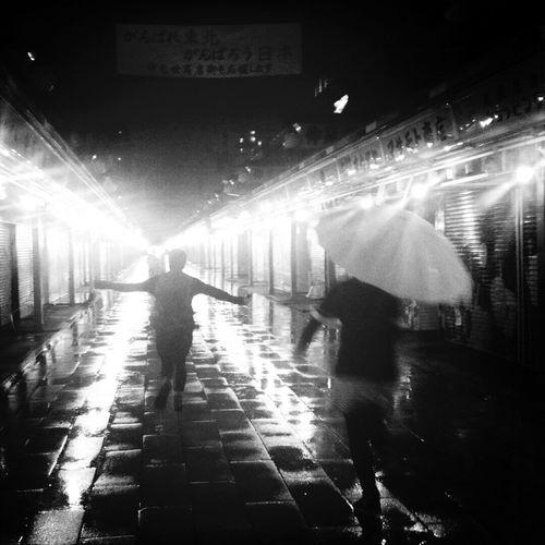 Rain Shine Night Lights Dreaming