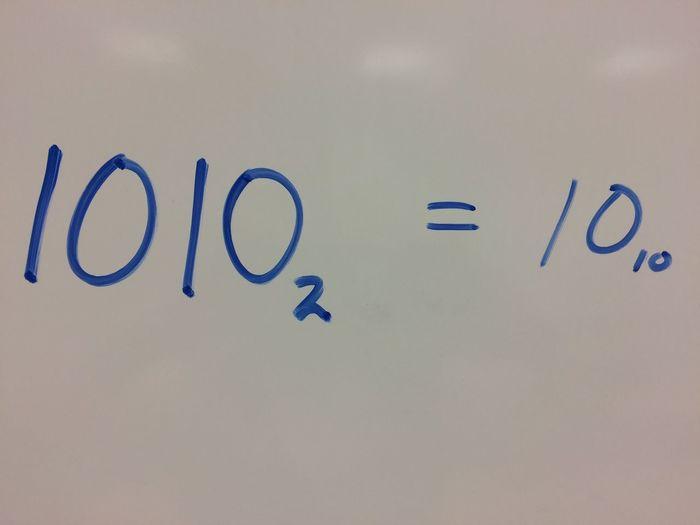 10 10 Binary