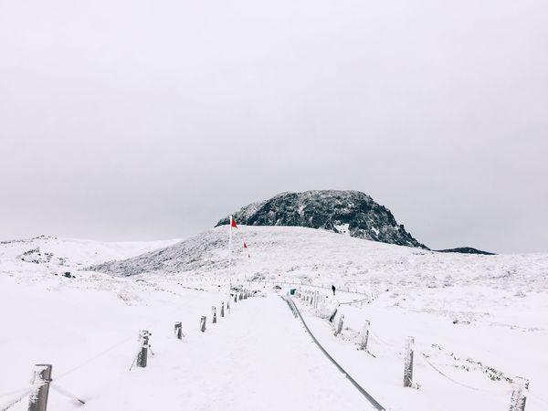 Winterscapes Showcase: December Hallasan Mountain JEJU ISLAND  South Korea The Week On EyeEm Editor's Picks
