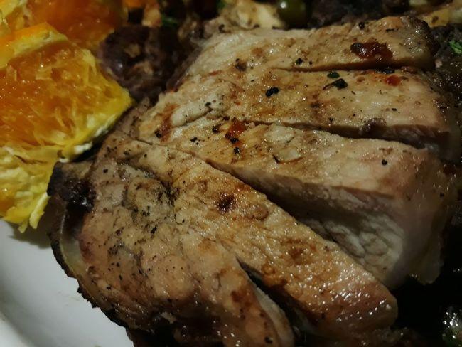 greek food with orange Greek Food Greek Family Western Food