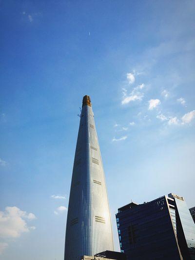Korea Seoul Jamsil Lotteworld Tower