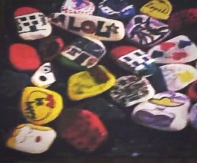 Painted stones.İts good stones.🎨 Multi Colored First Eyeem Photo