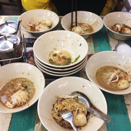 Boat Noodles Boatnoodles Chillin With My Friends Foodmakesmehappy