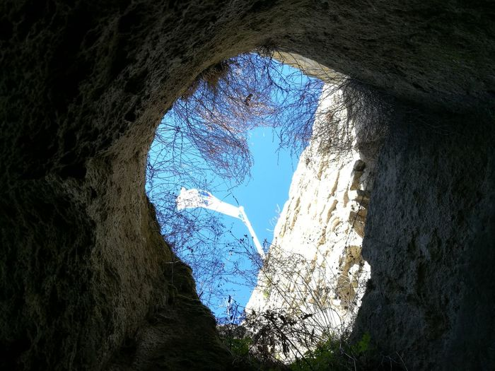 Blue Sunlight No People Tree Nature Day Reflection Siroki Castle Beauty In Nature Intodeep Deep The Secret Spaces