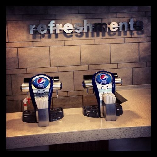 Pepsi Refreshments Hardees After gym fake food
