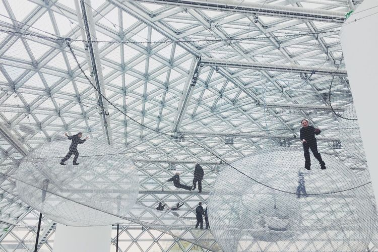 Thomas Saraceno Düsseldorf K21 Art Installation Installation Art Modern Art In Orbit Go Higher The Architect - 2018 EyeEm Awards Creative Space