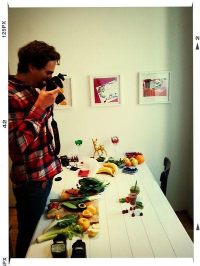 green smoothie shooting Vegan Foodphotography Green Smoothie DIY Thx4cooking  BIORAMA