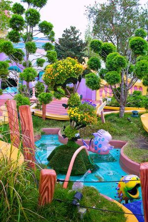 Growth Plant Flower Tree Nature Beauty In Nature Multi Colored Green Color Water Ornamental Garden Grass Freshness Gardening Equipment Nature Amusement Park Family Time Botanical Garden Universal Studios Orlando Orlando Park Theme Park Fountain Tourism USAtrip Plant