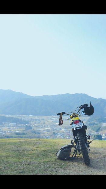 Bike Is My Life. Yamaha Bronco 山頂
