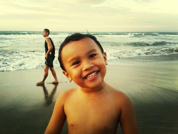 Portrait Of A Friend Smile Portrait Mobile Photography #beach