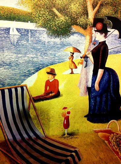 """Sunday Afternoon on the Island of La Grande Jatte"""