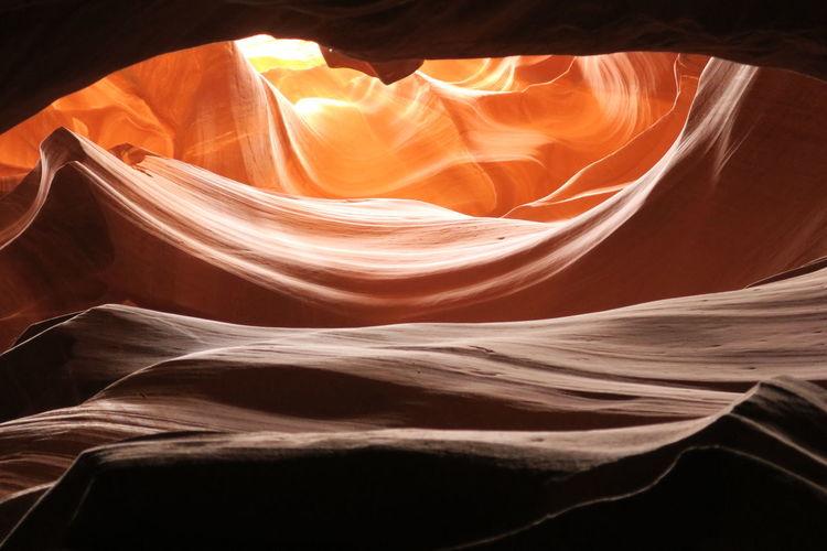 Antelope Canyon Arizona Soaking Up The Sun Colour Of Life