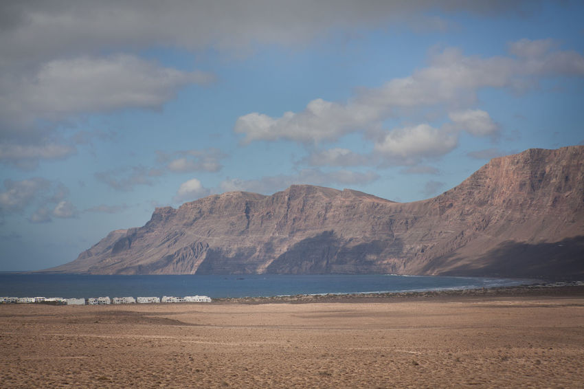 Canary Islands Holiday La Graciosa Lanzarote Ocean View Surfing Spot Adventure Beach Beauty In Nature Cloud - Sky Day Explore Famara Landscape Mountain Nature No People Ocean Scenics Sea Sky Tourism Tranquility Vacation
