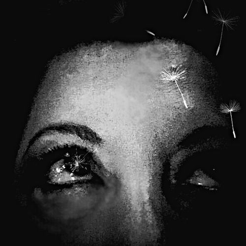 Look away and up there might be a dream falling on your head, strange things do happen, you know? The New Self-Portrait Free Open Edit NEM GoodKarma Blackandwhite Behind The Masks Portrait Of A Woman NEM Painterly