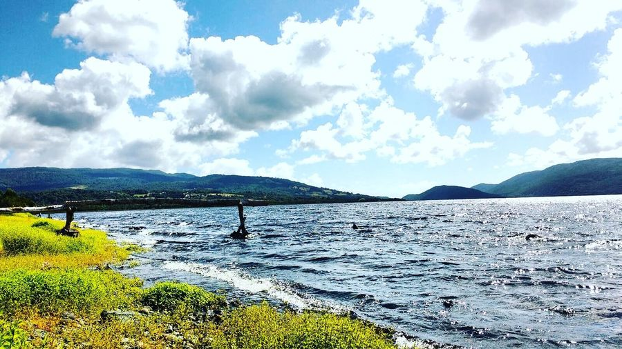 Beautiful Landscape Chile Chilöe Lago Huillinco