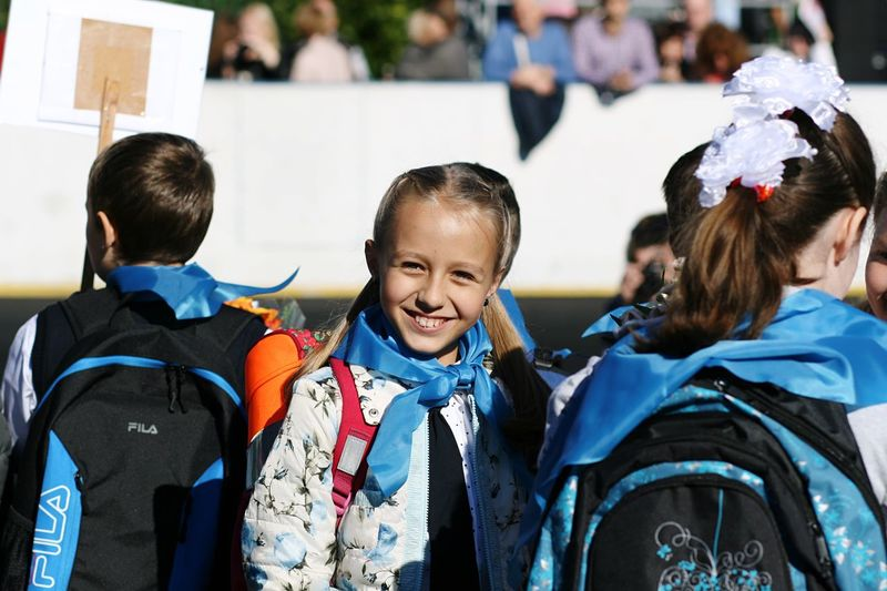 The Color Of School Doughter  1сентября School The Color Of Sport