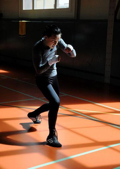 Boxclub Basel Athlete Sport Combat Sport Boxing Glove Fighting Stance Boxing - Sport