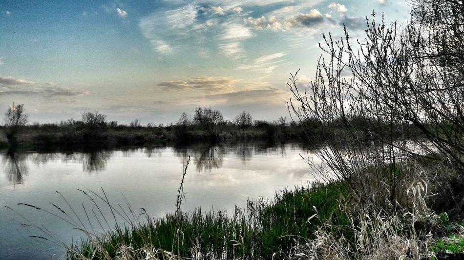 Konin Poland Warta River Nature Clouds Erasmuslife Deepbreath
