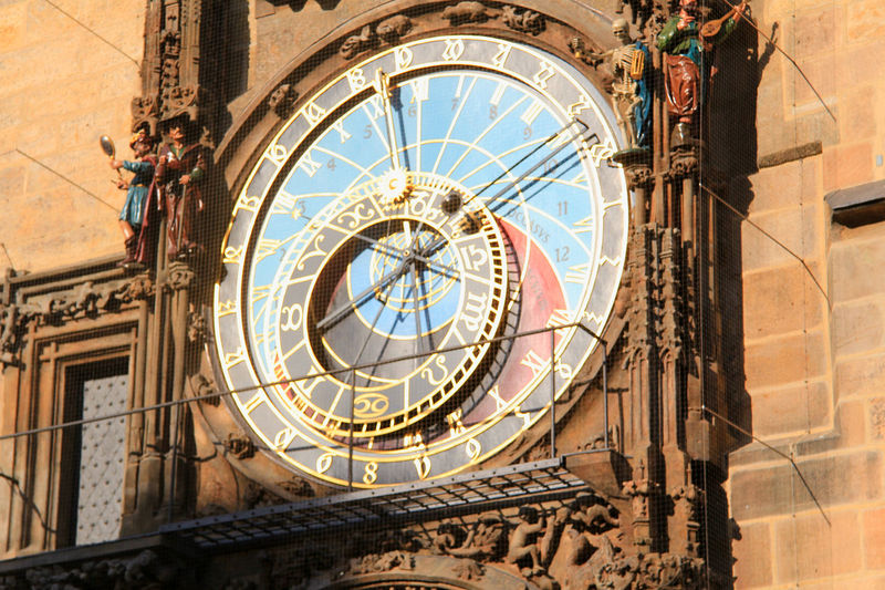 Architecture Building Exterior Built Structure Clock Tower Clock Time Building Roman Numeral Travel Destinations Tower History Astronomical Clock The Past Clock Face Roman Tourism Low Angle View City Astronomy No People Outdoors Minute Hand Ornate Prague Czech Republic Old Town Square