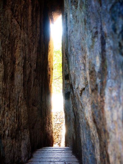 Yeosu Hyangilam Temple Stone Old Door Wonderful Place Beautiful Olympus E-P3 14-54mm II Traveling