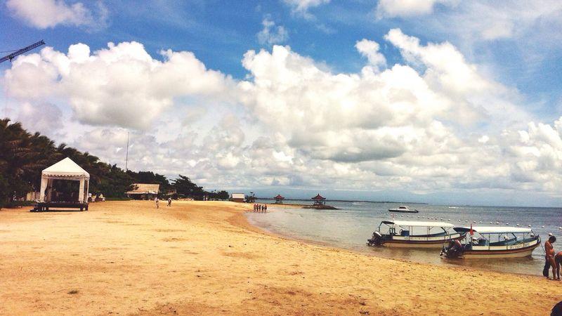 one fine sunny day ☀️ Sky Beach Cloud - Sky