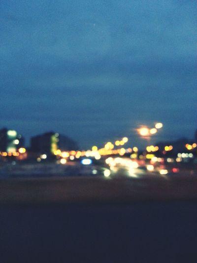 Night Kiev Walking Around