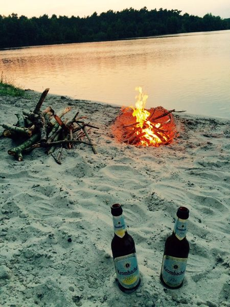 Krombacher Offlumer See Pils RadlerBeach Burning Fire - Natural Phenomenon Flame Lake Nature Outdoors Sunset Water Landscape Nature_collection Naturelovers Nature Photography Landscape_lovers Landscape_Collection Outdoor Pictures Outdoor Beauty Mix Yourself A Good Time The Week On EyeEm Your Ticket To Europe Connected By Travel Food Stories