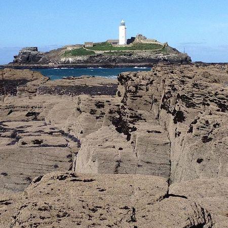 Godrevy lighthouse.. #lighthouse #godrevy #cornwall #improvedimage Lighthouse Cornwall Improvedimage Godrevy
