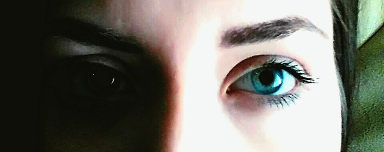 Blue Eyes Face BlueEyes Blueeyesgirl Lifestyles Human Face Headshot Portrait Focus On Foreground Close-up Part Of Contemplation Human Eye Leisure Activity