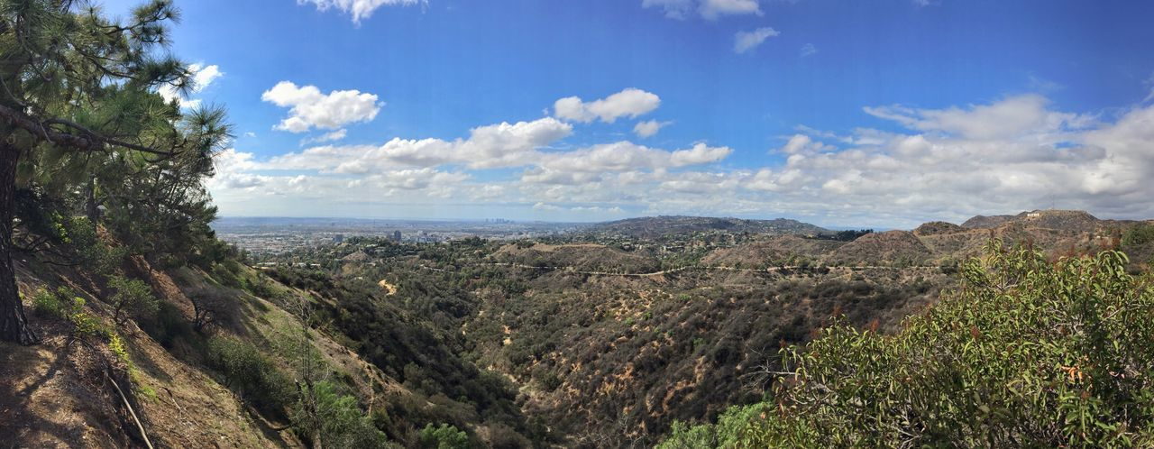 Panorama Skyline Nature Beautiful Nature California Glendale Sky Clouds And Sky Clouds Sky And Clouds