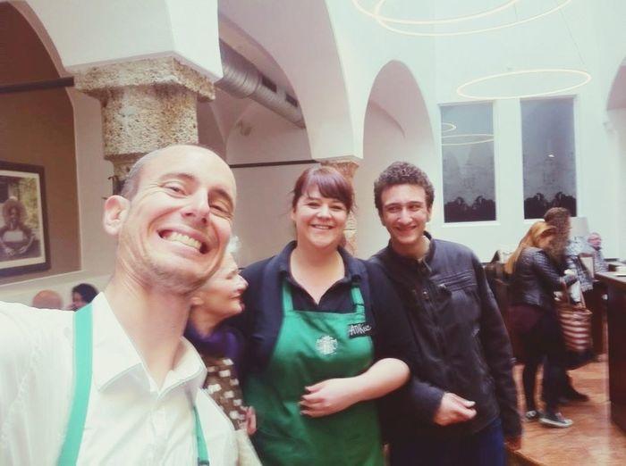 Salzburg Starbucks Live sStarbucks Staff